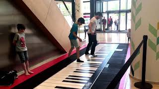 FADED (Alan Walker) on a Giant Piano 😎🥳🎹 played by 10 years old boy!