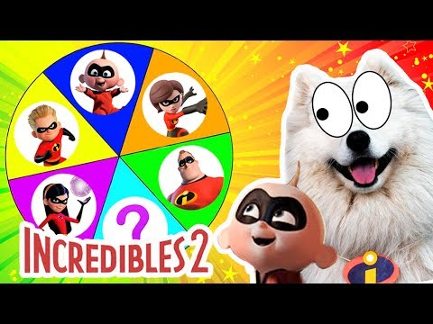 INCREDIBLES 2 Spinning Unboxing Toy Surprises Family Friendly opening Toy Review - Coco Kids Club