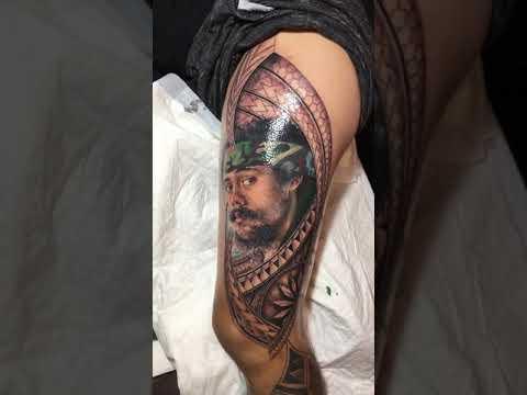 damian marley tattoo