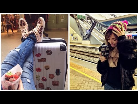 De trem de Londres para Paris
