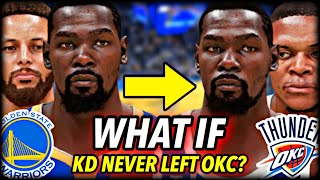 What If Kevin Durant Never Went To The WARRIORS? I Reset The NBA to 2015 To Find Out...