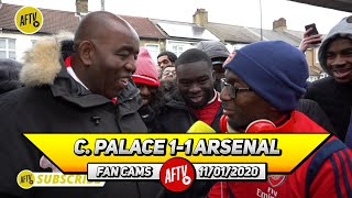 Crystal Palace 1-1 Arsenal | If The Ref's Are Gonna Use VAR Then They Must Be Consistent! (Ty)
