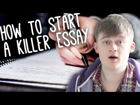 Good Persuasive Essay Topics For High School How To Start An Essay With A Hook  Essay Tips Oedipus The King Essay Questions also Perfect College Essay Examples How To Start An Essay With A Hook  Essay Tips  Youtube Essays On Friendship