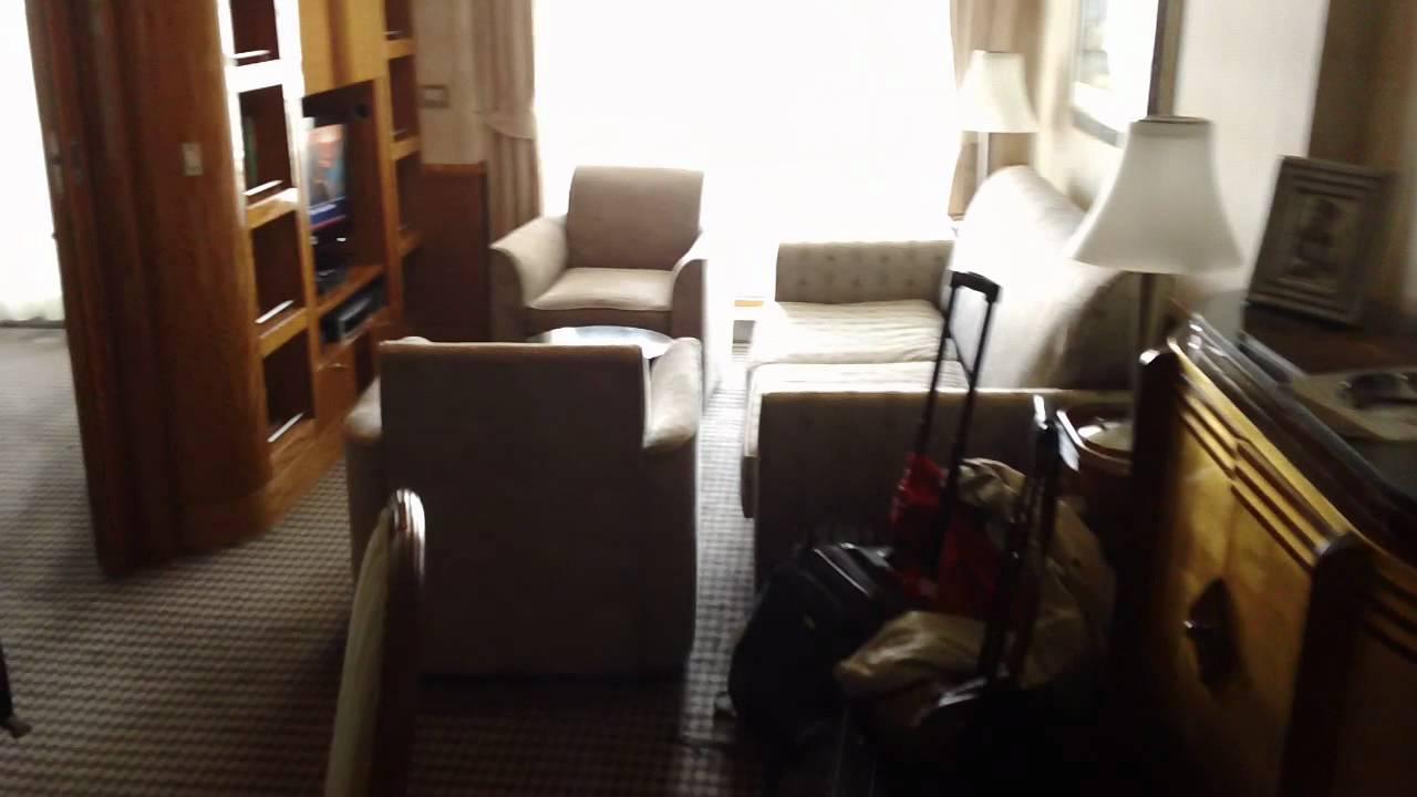 Disney Wonder One Bedroom Suite Youtube