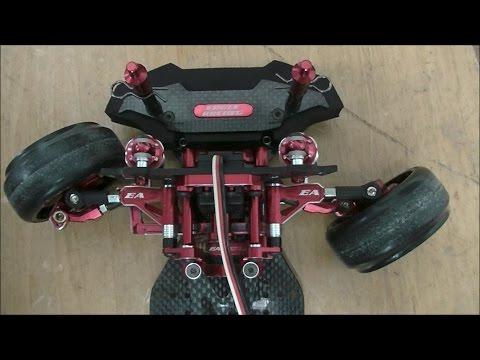 Kさん 2WD ドリフトシャーシ Eagle Racing TT02 RWD S15 ボディ &走行動画 RWD DRIFT RC