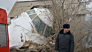 Турецкий грузовой самолёт упал на посёлок под Бишкеком (новости)