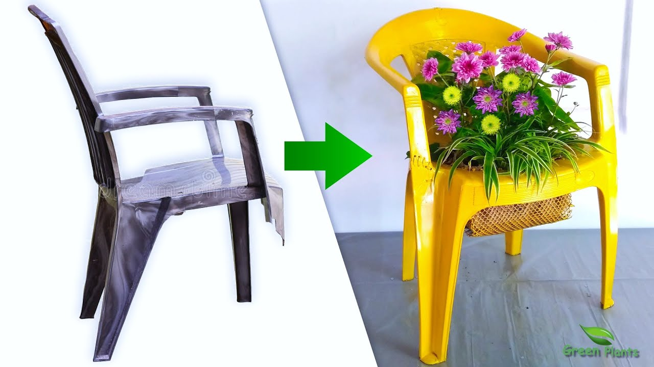 Creative Way to Make Beautiful Flower Pot from Waste Material | Flower Pots Ideas//GREEN PLANTS