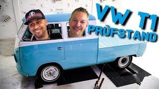 JP Performance  - DAS VW T1 PROJEKT | PRÜFSTAND - Leistung messen!