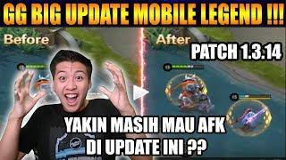 GG MONTON BIG UPDATE PATCH BOCAH GABISA AFK LAGI HAHAHA - Mobile Legend Bang Bang