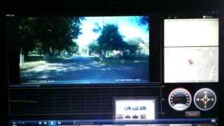 Программа просмотра видео с авторегистратора(Программа просмотра видео с авторегистратора DOD TG300 с контролем скорости и визуализации передвижения машин..., 2013-05-21T15:35:33.000Z)