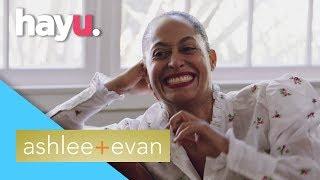 Tracee Ellis Ross Excited For Evan's Performance | Ashlee + Evan