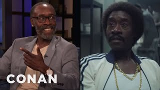 "Don Cheadle On The ""Edgy"" Writing In ""Black Monday"" - CONAN on TBS"