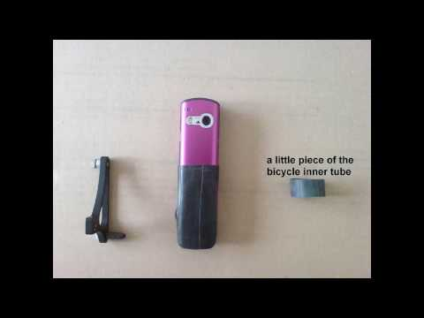 Selfmade Bike Camera Mount Aiptek PenCam Trio HD
