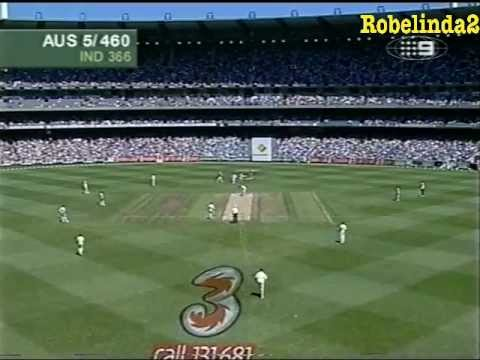 Ricky Ponting incredible 257 vs India 3rd test MCG 2003/04