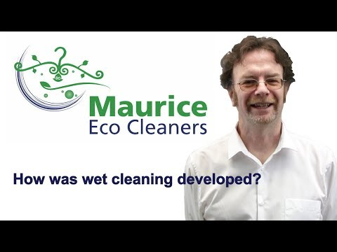 Maurice Eco Cleaners - How was Solvent free 'dry' cleaning developed?