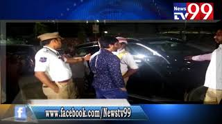 TIRUMALGIRI TRAFFIC POLICE CONDUCTED DRINK & DRIVE AT JUBILEE HILLS FILM CHAMBER