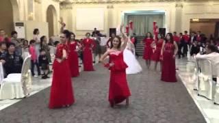 Самый лучший свадебный флешмоб КУАНЫШ САНИЯ