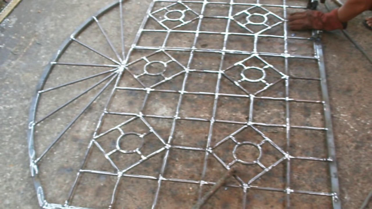Fabricate Steel Window Grills... - YouTube