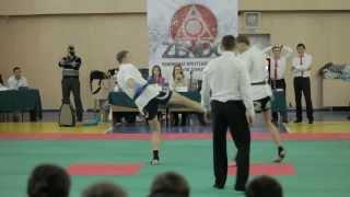 Бой по профессиональному дзэндо. 1 раунд(22 декабря 2013 в Иркутске, при поддержке ресторана доставки японской кухни