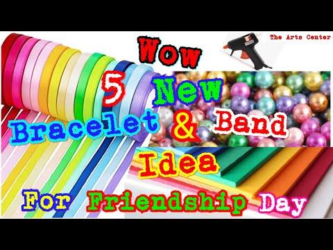 dIY Friendship Bracelets. 5 Easy DIY Bracelet projects! #How to make #Glue Bands by The Arts Center