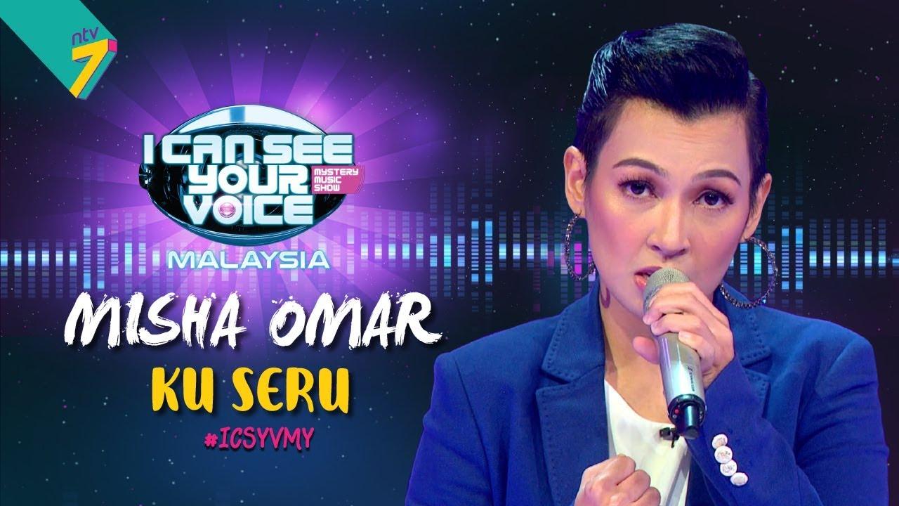 I Can See Your Voice Malaysia : Misha Omar – Ku Seru | #ICSYVMY
