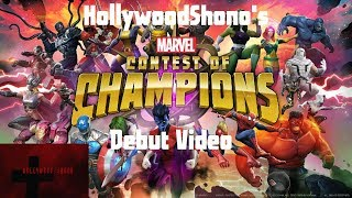 Marvel Contest of Champions - HollywoodShono's Debut Video Full Time 1-1-19 or Earlier