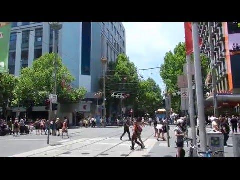 Melbourne - City Tour - Shopping Districts (Bourke St, Emporium etc) 2015 12 16