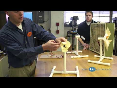 The Be Network - Wind Power in Middle School