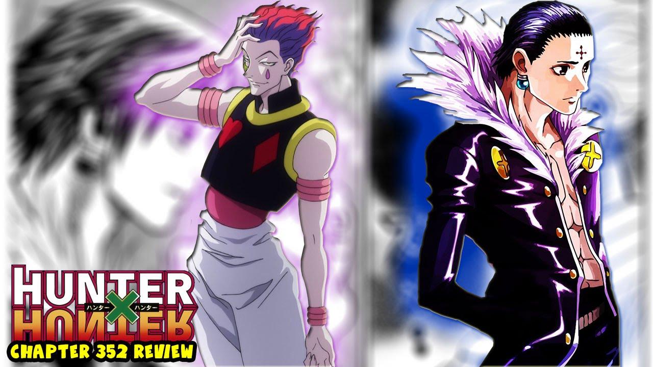 Chrollo Vs Hisoka Heavens Arena Death Battle Hunter X Hunter Chapter 352 Manga Review Youtube