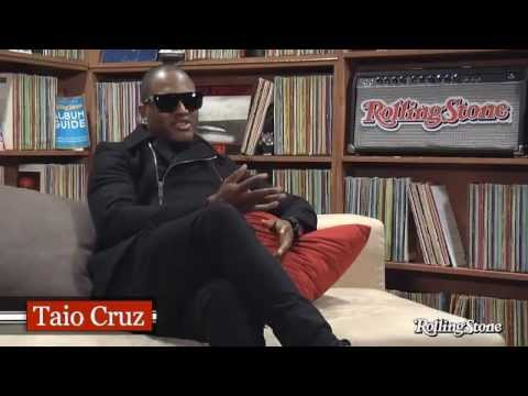 Taio Cruz Interview in the Rolling Stone studio