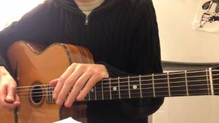A Song for You (Donny Hathaway) – Guitar lesson (part 2)