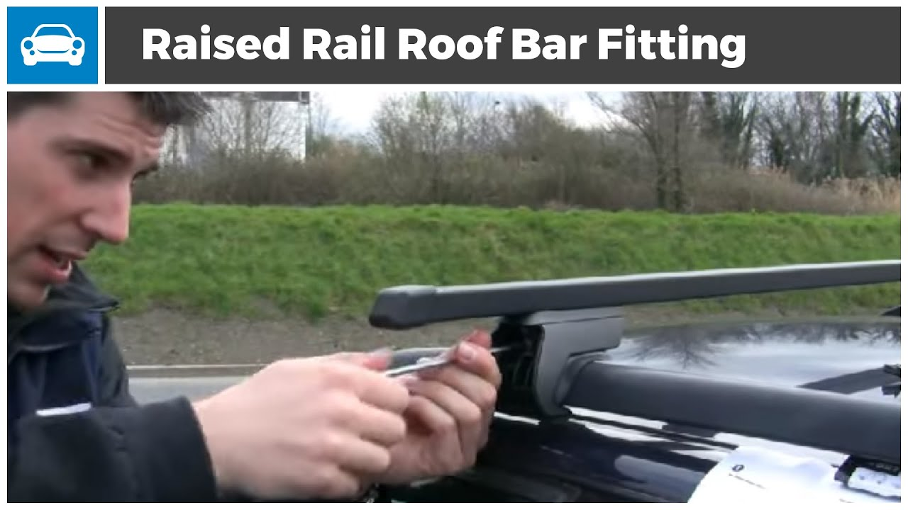 Roof Rack Fitting Demonstration - Roof Rails - YouTube
