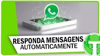 Truque para ativar respostas automáticas no WhatsApp