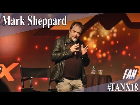 Mark Sheppard  Supernatural  Full PanelQ&A  X 2018