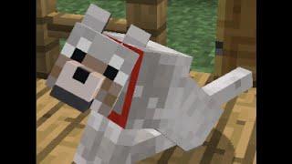 как сделать собаку и домик для собаки в MineCraft