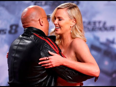 Diesel, Theron get Fast and Furious in Berlin