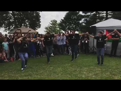 Dabke دبكه at Run for Palestine فلسطينToronto