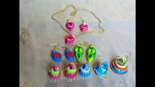 Paper Crafts Ideas - How to make Latest Quilling Earrings with paper