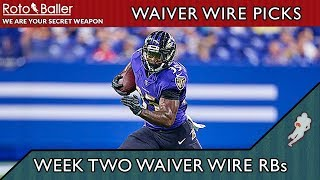 Week 2 Running Back Waiver Wire Targets - 2019 Fantasy Football