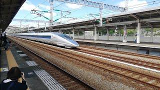 500系勇姿の姿!!山陽新幹線500系団体臨時列車相生通過