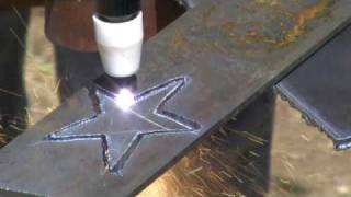 Using The Luxor Industrail Equipment Plasma Cutter Cut-40D Cut-40