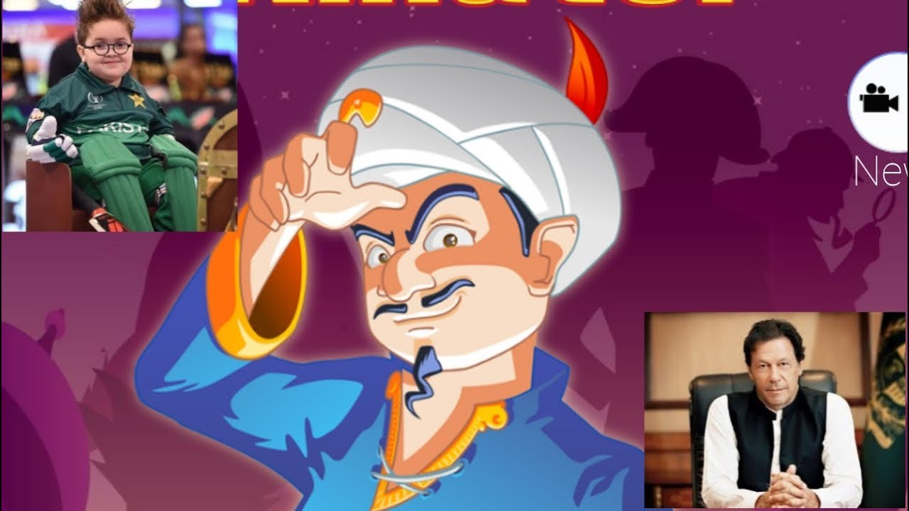 I try to find Ahmed shah and imran Khan in Akinator