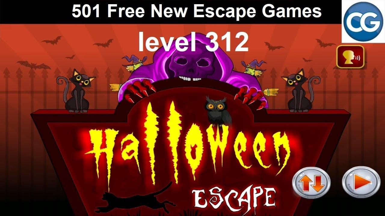 Halloween Escape Soluzione.Walkthrough 501 Free New Escape Games Level 312 Halloween Escape Complete Game