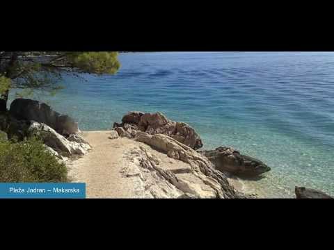 Beaches in Makarska Croatia