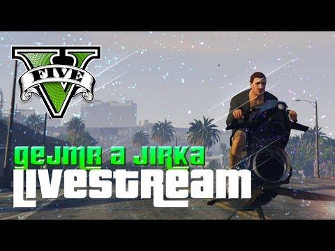 První Stream Z GTA 5 S Jirkou! [GEJMR]