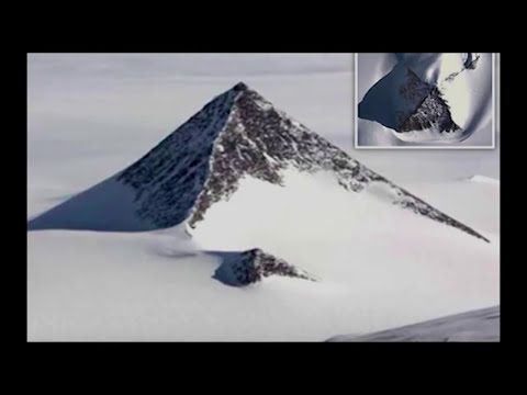 Snow pyramid discovery'in Antarctic could change