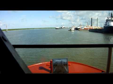 Passing Thru    Port Fourchon