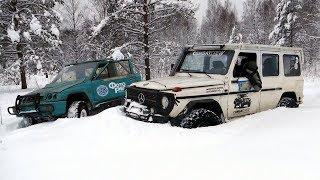 Гелик vs Гоблин, Simex vs AT, Внатяг vs Тапкавпол в глубоком снегу