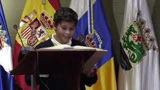 Lectura de varios artículos de la Constitución - Puerto de la Cruz