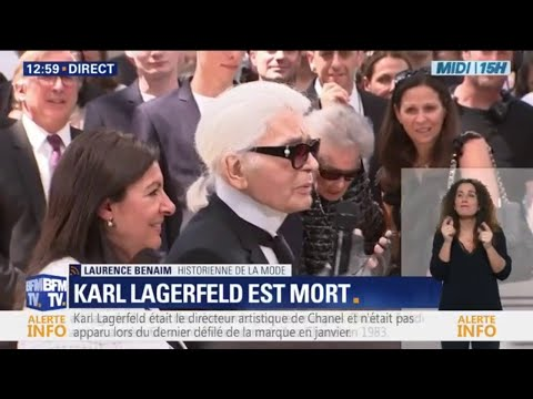 Mort de Karl Lagerfeld: Laurence Benaim se souvient